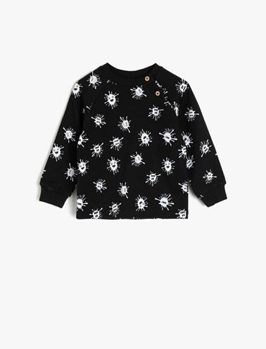 Koton Kids Sweatshirt Siyah